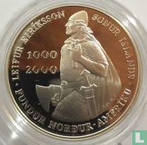 "Island 1000 Krónur 2000 (PP) ""Leif Ericsson Millennium - Discoverer of the New World"""
