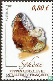 Rough Sphene Crystals