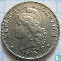 Argentinië 20 centavos 1925