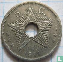 Belgian Congo 5 centimes 1911
