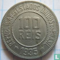 Brasilien 100 Réis 1935