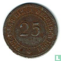 Anhalt 25 Pfennig