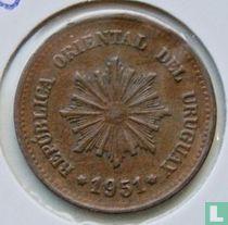 Uruquay 2 centesimos 1951