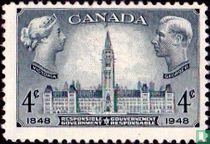 Parlementsgebouw in Ottawa