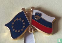 Vlag EU-Slovenië
