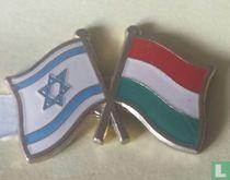Vlaggen Israel-Hongarije