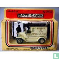 Ford Model-T Van 'Bureau Of Fire Ambulance PBF'