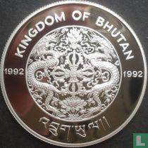 "Bhutan 300 ngultrums 1992 (PROOF) ""1994 Winter Olympics in Lillehammer"""