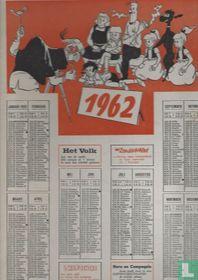 Jommeke kalender 1962