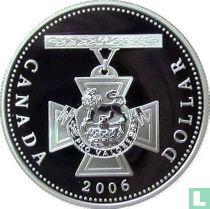 "Canada 1 dollar 2006 (PROOF - kleurloos) ""150th anniversary Creation of the Victoria Cross"""