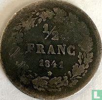 België ½ franc 1841