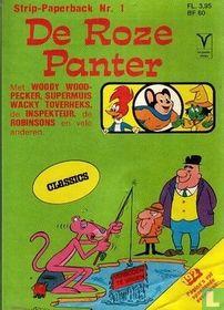 De Roze Panter strip-paperback 1