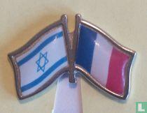 Vlag Israel-Frankrijk