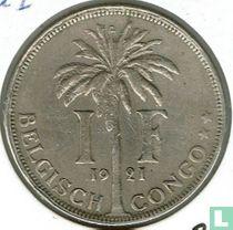 Belgisch-Kongo 1 franc 1921 (NLD)