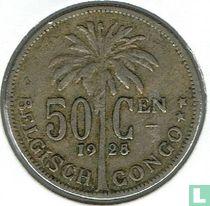Belgisch-Kongo 50 centimes 1925/24 (NLD)