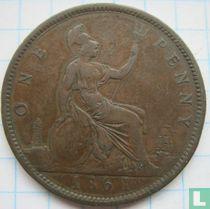 Verenigd Koninkrijk 1 penny 1861