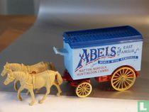 Horse drawn Removal Van 'ABELS'