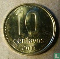 Argentina 10 centavos 2011