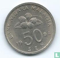 Maleisië 50 sen 1994