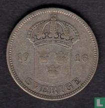 Schweden 50 Öre 1916