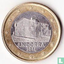 Andorra 1 euro 2016