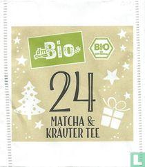 24 Matcha & Kräuter Tee