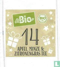 14 Apfel, Minze & Zitronengras Tee