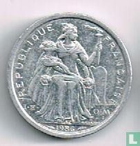 Frans-Polynesië 1 franc 1986