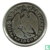 Chili 20 centavos 1880