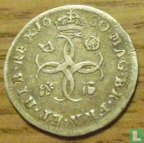 Angleterre 4 pence 1680