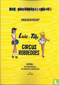 Lucia en Tilly in Circus Robbedoes