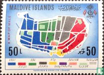 Map of maledive