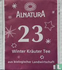 23 Winter Kräuter Tee