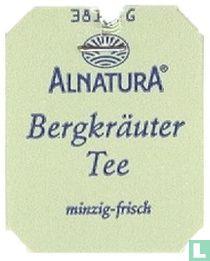 Alnatura Bergkräuter Tee minzig-frisch