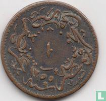 Ägypten 10 Para 1852 (Jahr 1255-15)