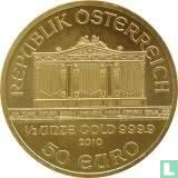 "Austria 50 euro 2010 ""Wiener Philharmoniker"""