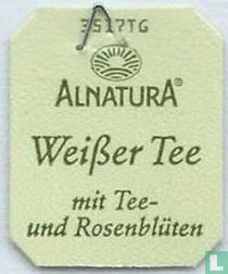 Alnatura Weißer Tee mit Tee- und Rosenblüten