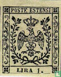 Duché de Modène - Aigle avec couronne