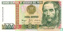 Peru 1.000 Intis 1988