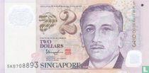 Singapore 2 Dollars ND (2015)