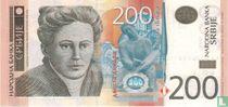 Servië 200 Dinara 2013