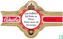 Café Carnot At Nieke and Walter Nationalestr. 44 Antwerp - Caribbean - Tel. 33 76 95