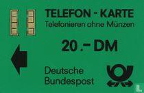 Telefon - Karte 20.- DM