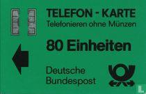 Telefon - Karte 80 Einheiten