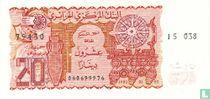 Algerije 20 Dinars 1983