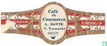 Café du Commerce A. Botte N.Veemarkt Gent - Maldegem - R. Janssens & Zn