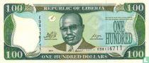Liberia 100 Dollars 2011