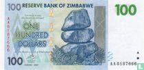 Zimbabwe 100 Dollars 2007