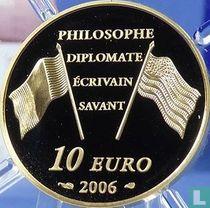 "Frankrijk 10 euro 2006 (PROOF) ""300th anniversary of the birth of Benjamin Franklin"""