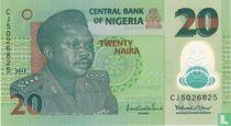 Nigeria 20 Naira 2013